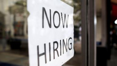 The sky isn't falling for the job market