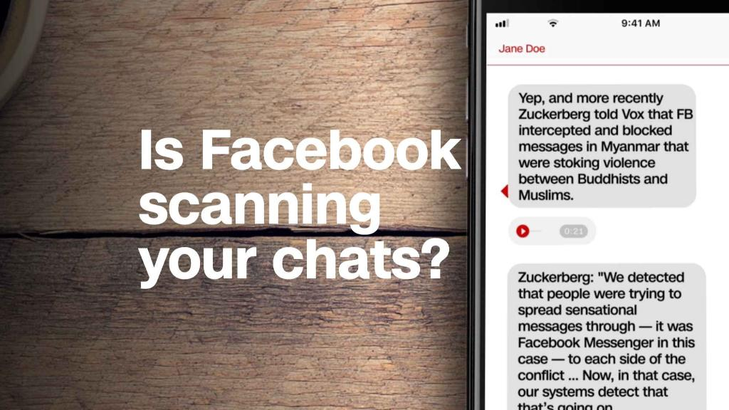 Is Facebook scanning your chats?
