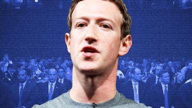 Mark Zuckerberg on Capitol Hill Monday to meet with lawmakers
