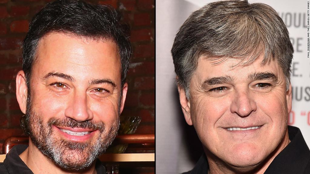 Kimmel, Hannity engaged in war of words
