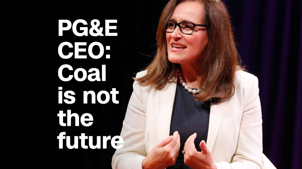 Energy CEO: Coal is not the future