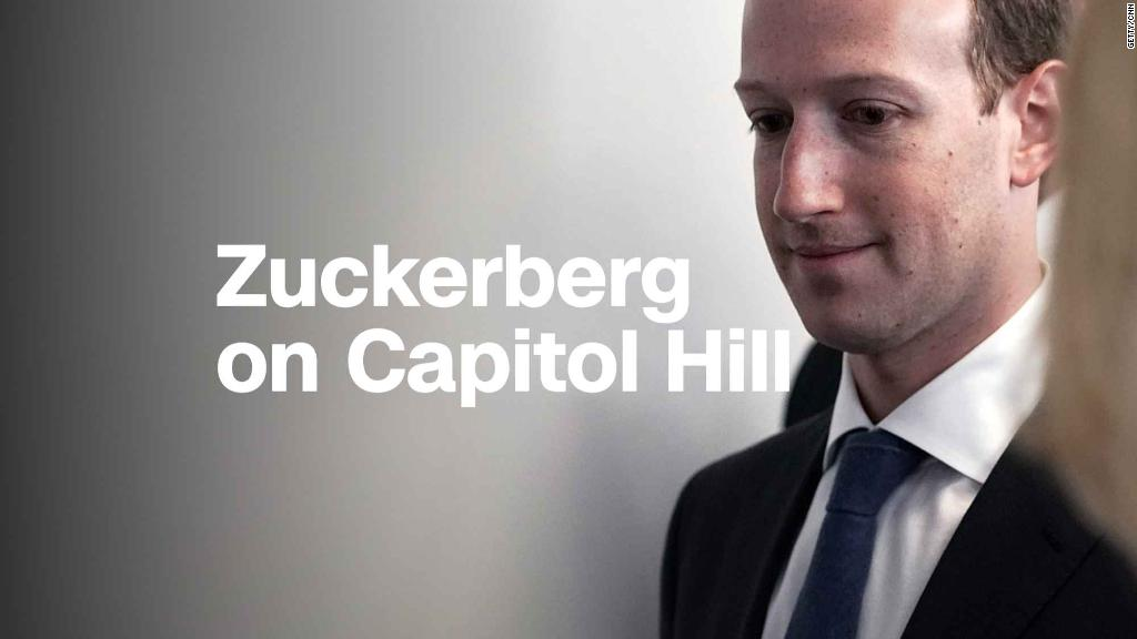 See Mark Zuckerberg on Capitol Hill
