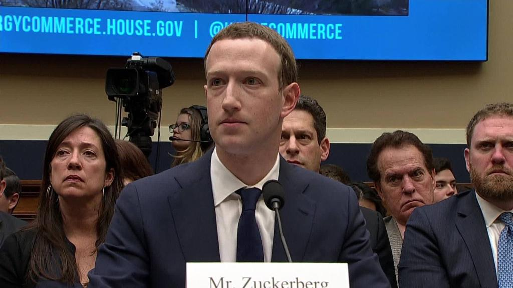Zuckerberg says his personal data was shared