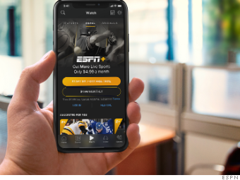 ESPN+ is the farm team to ESPN TV's major league  Is it