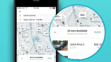 Uber will now help you rent a stranger's car