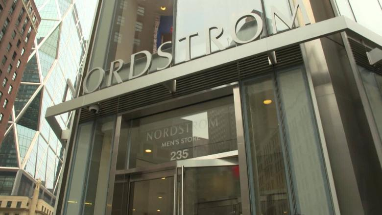 Nordstrom's men's store offers 24-hour curbside pickup - Video - Business News