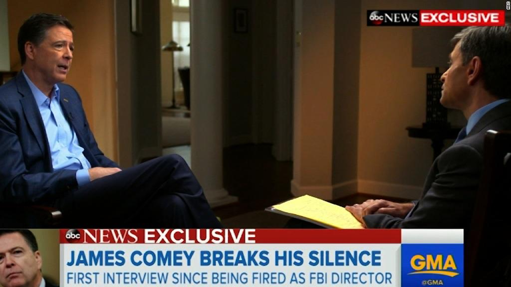 Comey: Briefing Trump felt like out-of-body experience