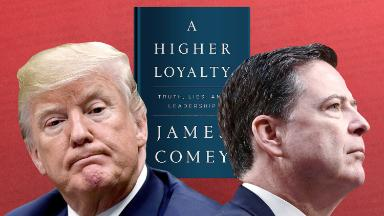 Publisher printing 850,000 copies of James Comey book