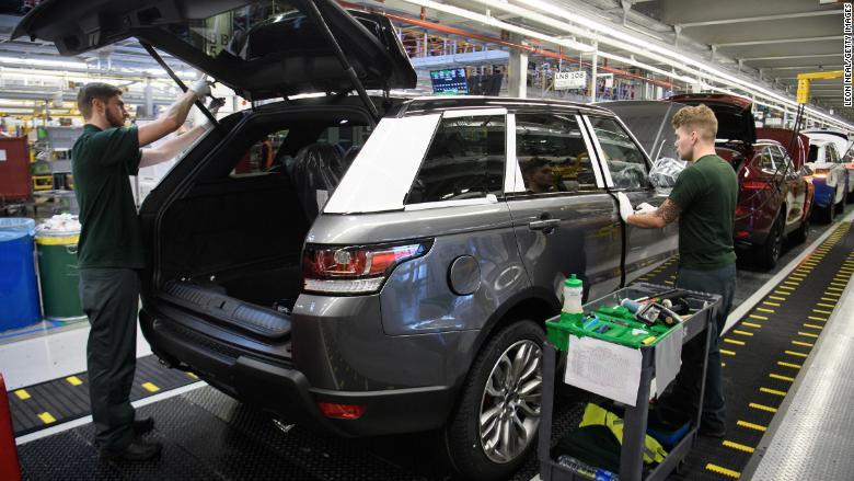 Jaguar Land Rover cuts 1,000 jobs in the UK