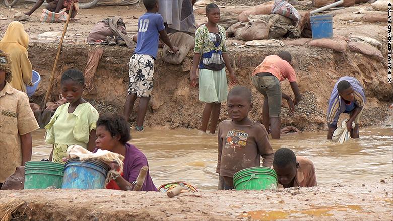 cobalt mining kids river