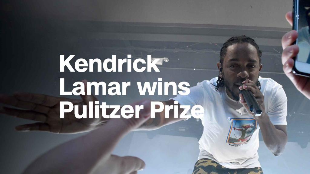 Kendrick Lamar wins a Pulitzer Prize