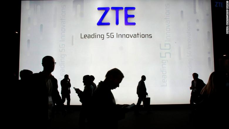 Image result for China's ZTE to US: Let us buy American technology again