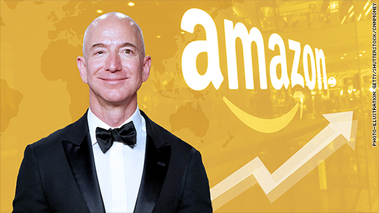 Happy Prime Day! Bezos worth $150 billion as Amazon hits all-time high