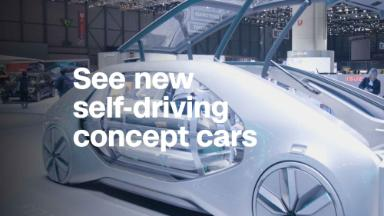 These self-driving concept vehicles are like nothing you've seen before