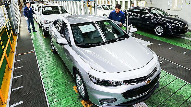 gm assembly line south korea