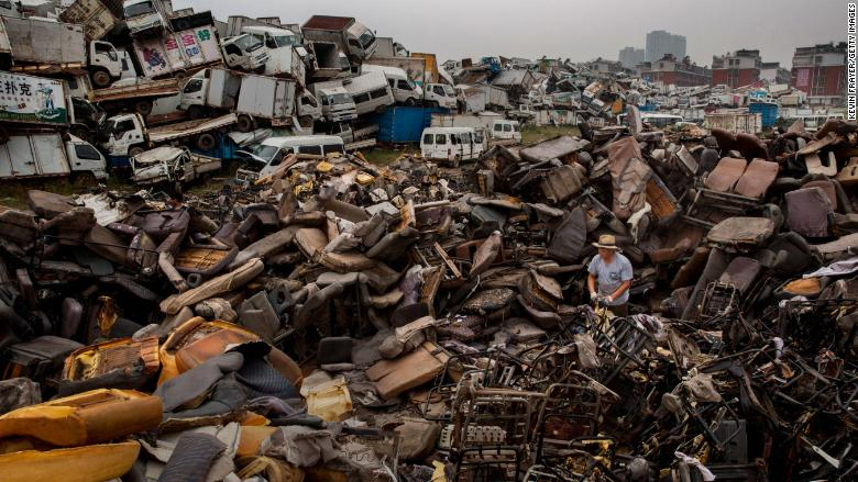 china scrap recycling