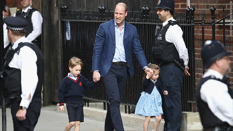 prince william price george princess charlotte