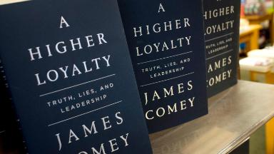 Readers flock to 'A Higher Loyalty,' despite partisan criticism