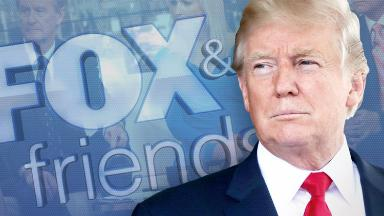 Trump's call to 'Fox and Friends' explains why we don't hear much from him