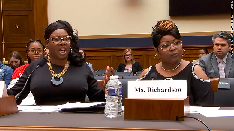 diamond and silk hearing