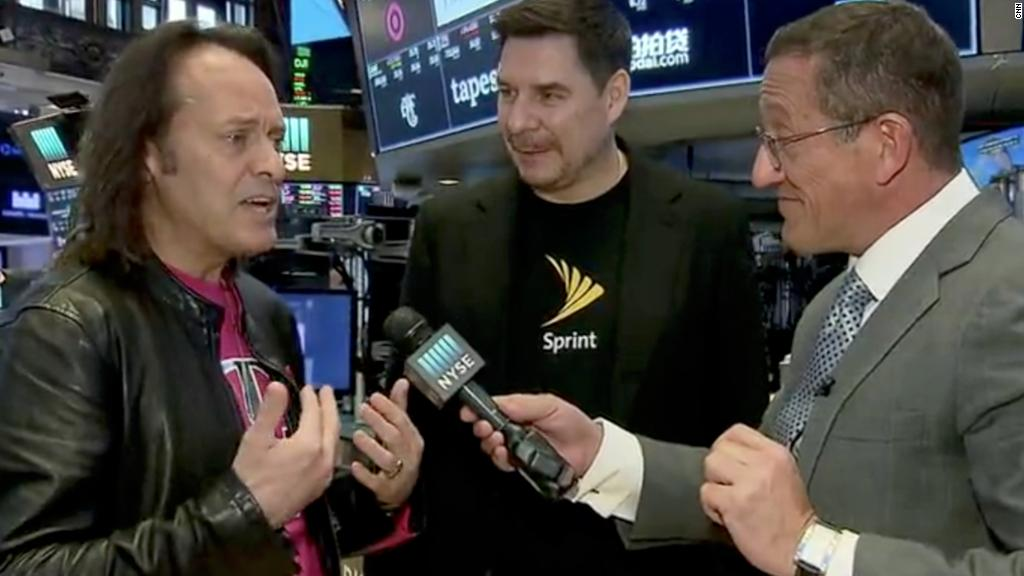 Sprint, T-Mobile CEOs on the odds of merger approval