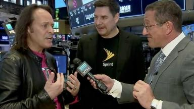 Sprint and T-Mobile CEOs promise merger won't raise prices