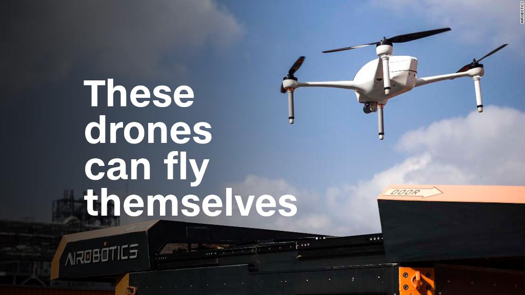 These drones can fly themselves