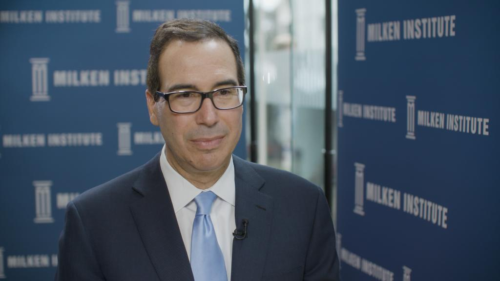 Mnuchin: U.S. debt to China does not give them leverage