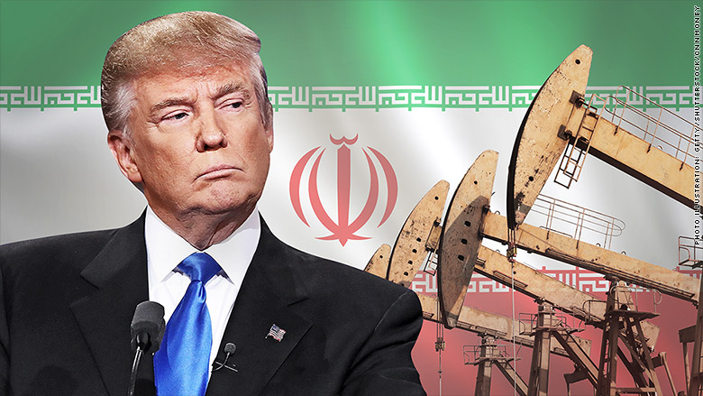iran oil prices trump