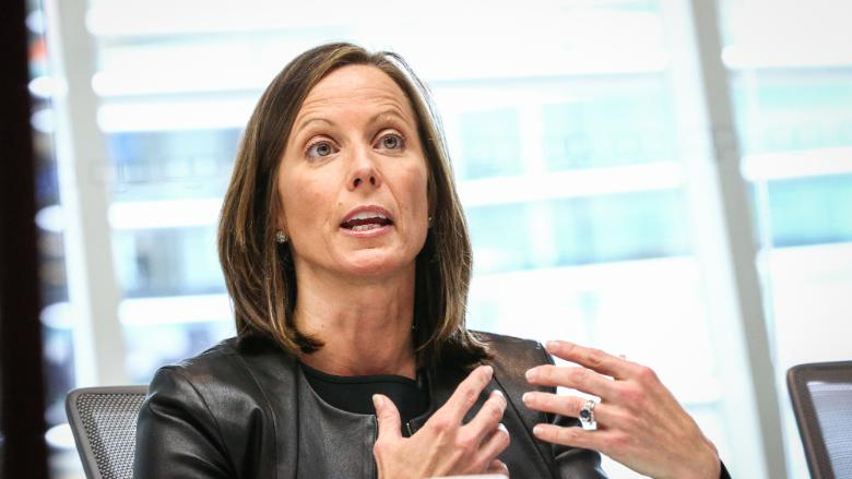 Nasdaq CEO Adena Friedman