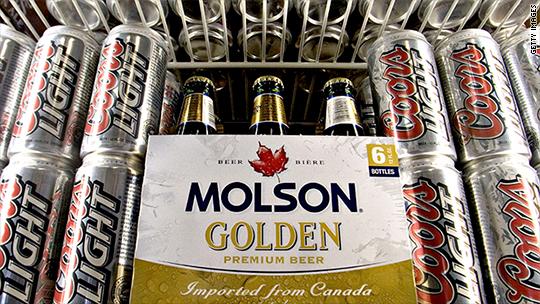 Molson Coors tanks on weak US beer sales