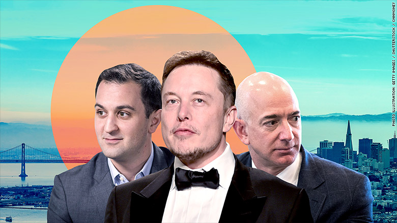 pacific elon musk jeff bezos john zimmer tesla spacex amazon lyft