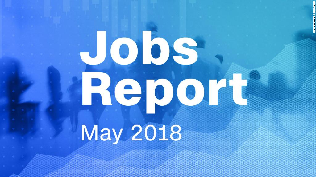 May jobs report: Unemployment falls to 3.8%