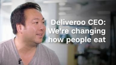 Deliveroo CEO: We're changing how people eat