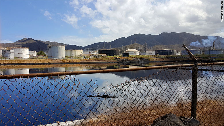 Venezuela oil refineries