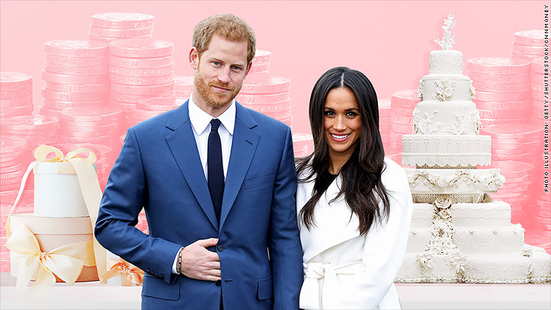 royal wedding cost meghan markle prince harry