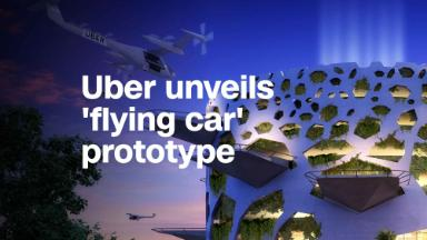 Uber unveils flying car prototype