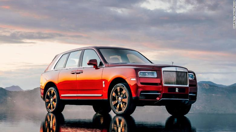 Rolls Royce Reveals Its First Suv