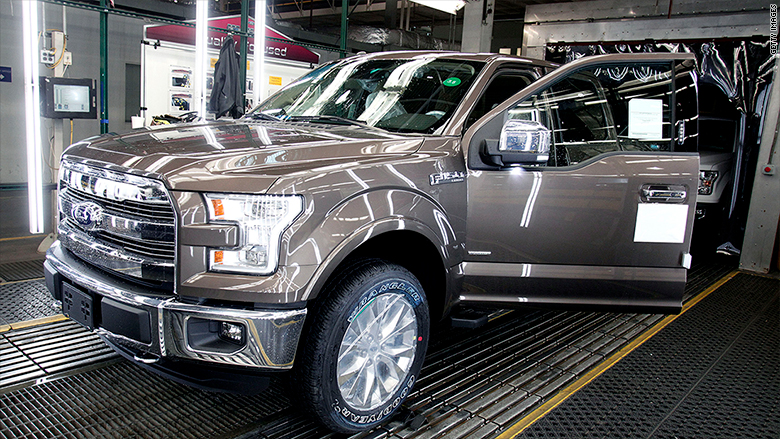Ford Suspends Production Of F 150 Trucks