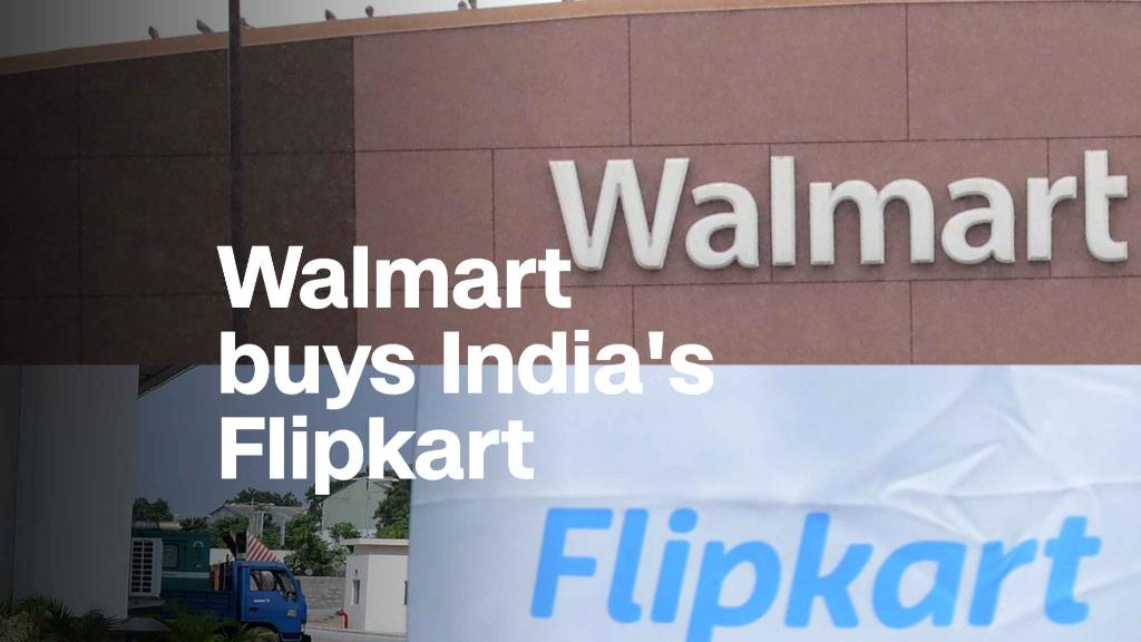 Walmart is buying Indian online retailer Flipkart