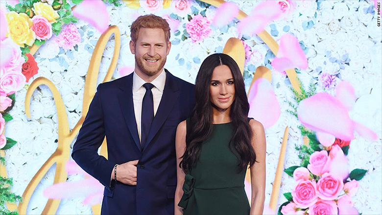 madame tussauds meghan markle prince harry 1