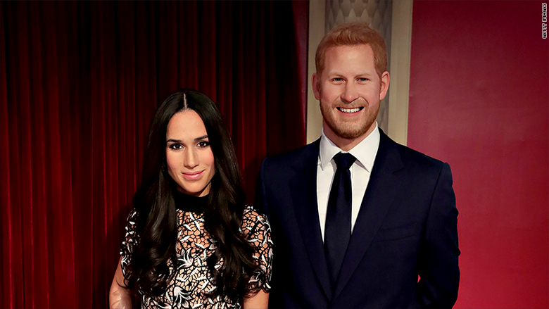 madame tussauds meghan markle prince harry