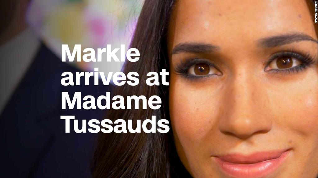 Meghan Markle wax statues arrive at Madame Tussauds