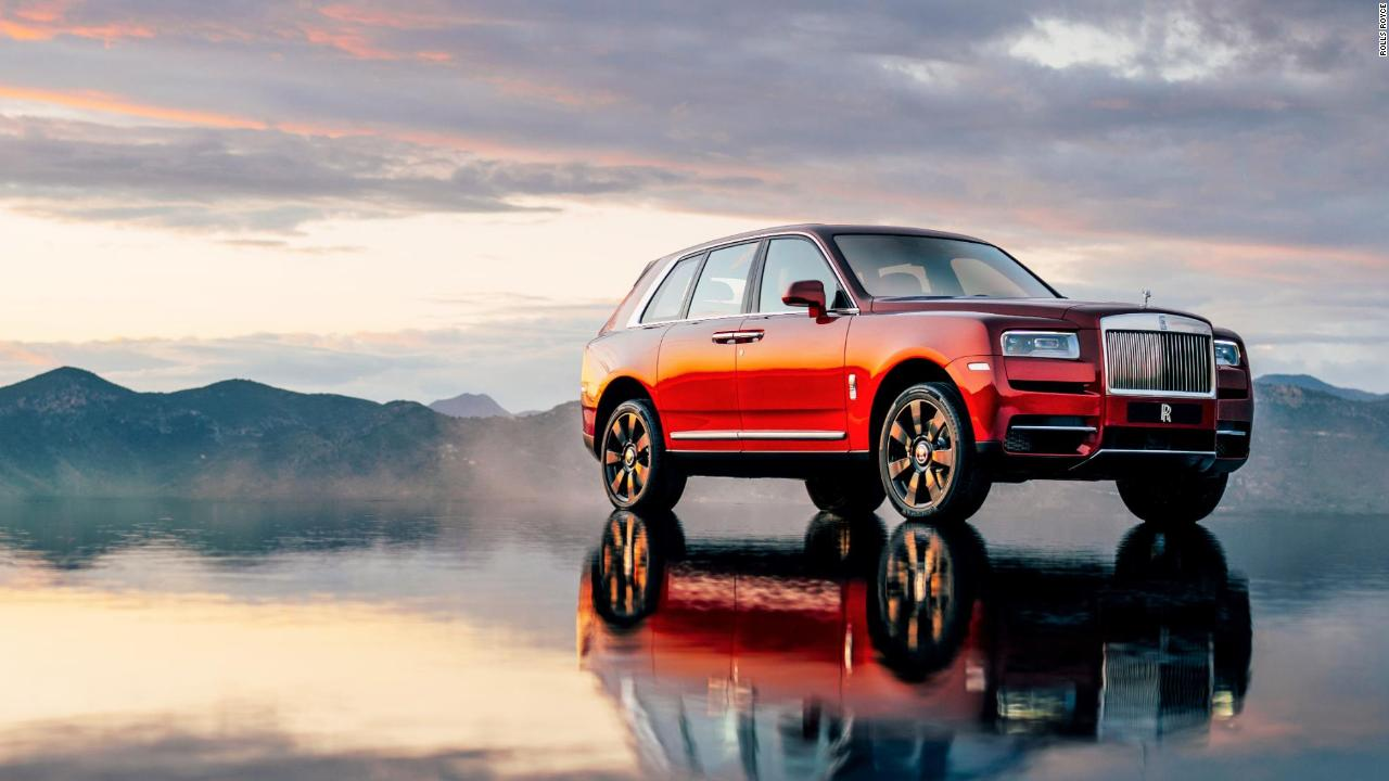 see rolls royce 39 s first suv video business news. Black Bedroom Furniture Sets. Home Design Ideas