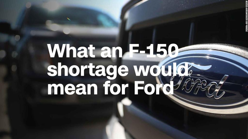 What would an F-150 shortage mean for Ford?