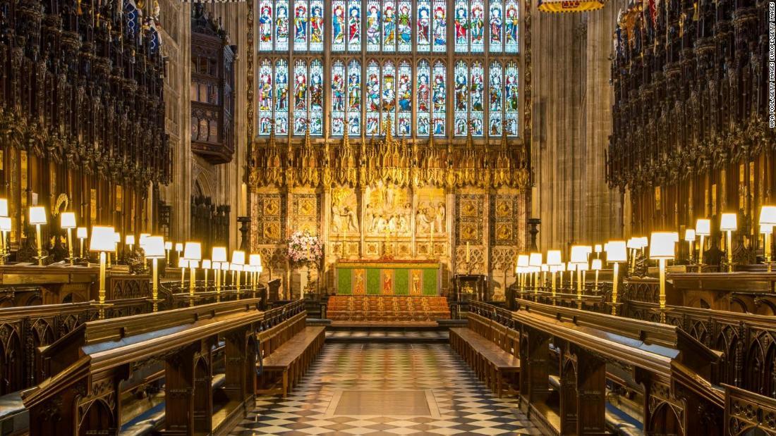 Inside Harry and Meghan\'s wedding chapel - Video - Business News