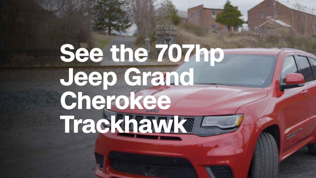 Jeeps Grand Cherokee Trackhawk Is Racetrack Ready Video Luxury