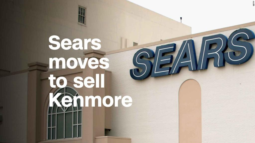 Sears wants to sell Kenmore
