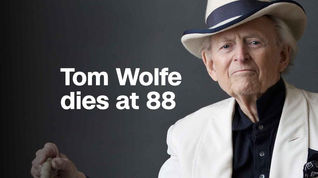 Innovative journalist Tom Wolfe dies