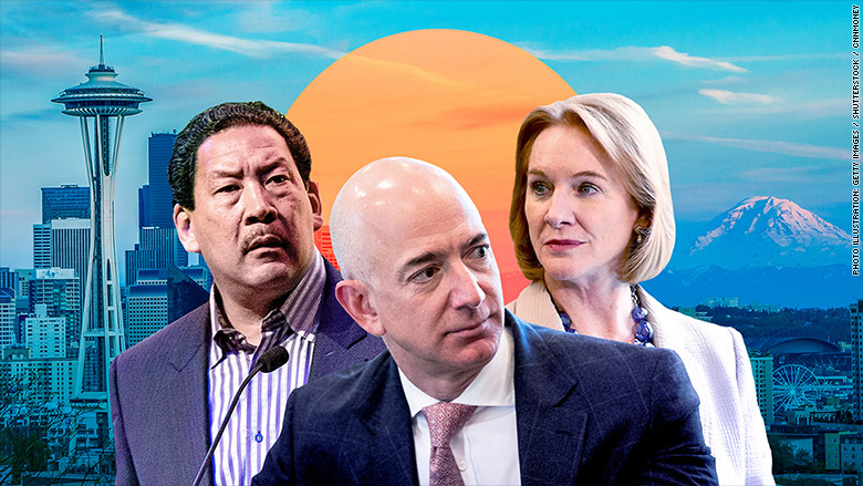 pacific jeff bezos jenny durkan bruce harrell newsletter seattle washington head tax amazon